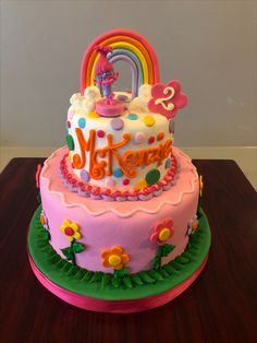 Groovy 194 Best Little Girl Birthday Cakes Images In 2020 Little Girl Personalised Birthday Cards Veneteletsinfo
