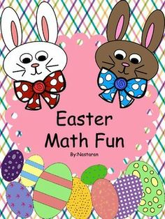 This free Easter Math Fun includes printable worksheets for keeping students busy and reviewing math skills. I hope you enjoy using these activities! Happy Easter!