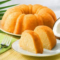 Tropical Coconut Bundt Cake 12 oz