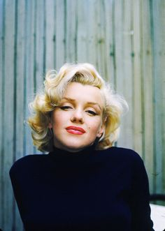 Beautiful Marilyn Monroe. <3