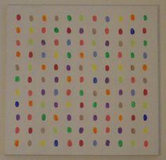Modern Thumbprint Art DIY Decor