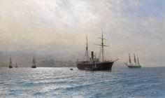 Lev Lagorio - Ships on a Calm Sea