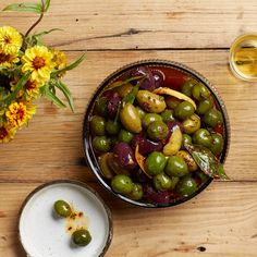 Warmed Spiced Olives