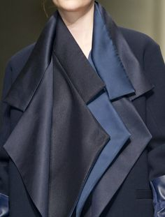~ love the navy hues ~ Gianfranco Ferre ~