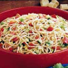 Spaghetti Salad XVIII Recipe