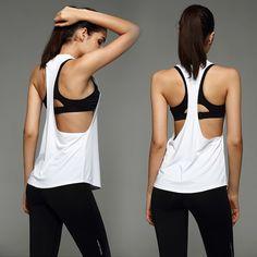 La Camiseta de las mujeres Ropa Deportiva Ropa de Deporte Traje de Deporte  Ropa de Yoga 63da01bfbb2a
