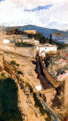 Landscape (Barcelona, 1838-1874) -- Mariano Fortuny y Marsal Grand Canyon, Country Roads, Pintura, Grand Canyon National Park
