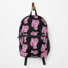 """""""Fight Like A Girl Breast Cancer Awareness"""" Backpack by HavenDesign 