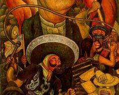 Carnival of Mexican Life. Dictatorship - Diego Rivera