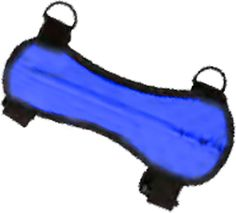 OCTOBER MOUNTAIN PRODUCTS OMP Arm Guard Blue, EA