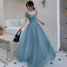 Cute Prom Dresses, Prom Outfits, Elegant Dresses, Pretty Dresses, Vintage Dresses, Dress Outfits, Fashion Dresses, Dress Up, Formal Dresses