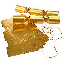 Buy John Lewis Make Your Own Crackers Kit, Gold from our Christmas Crackers range at John Lewis & Partners. Make Your Own Crackers, Christmas Crackers, Party Hats, John Lewis, Luxury, Gold, Tropical, Christmas Biscuits, Christmas Cookies