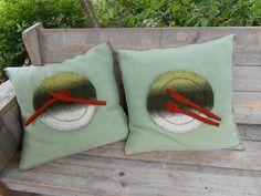 Pillows, for a restaurant, wool, Eexterhout by Kyroushka / Eexterhout, via Flickr