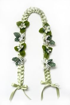Money Lei with ribbon
