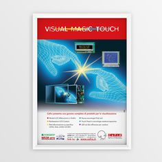 """Advertising CEFRA """"Visual Magic Touch"""""""