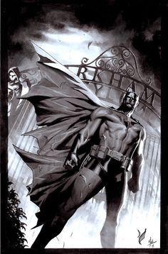 Batman by ZurdoM - Geek Art. Follow back if similar.- #comics #art