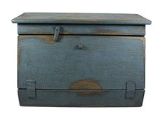 Bread Box Country Rustic Primitive Aged Wood by ThePaintedShelf