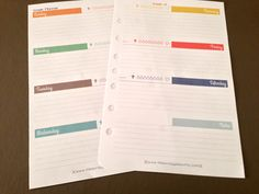 You might not be as excited as I am...but after writing yesterday'spost about my favorite feature on my weekly planner pages I realized - Hey, I can change a couple of things and offer it as a fre...