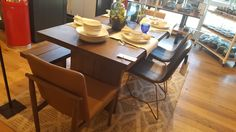 West elm West Elm, Dining Table, Furniture, Home Decor, Decoration Home, Room Decor, Dinner Table, Home Furnishings, Dining Room Table