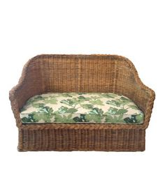 Vintage Wicker Settee – Hollywood At Home