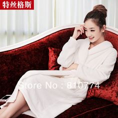 5af57139e8f 2017 Autumn and winter clothing lovers robe thickening coral fleece robe  male women s bathrobes lounge-in Robes from Women s Clothing   Accessories  on ...