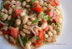 Zippy Northern Beans Salad - Simple Daily Recipes