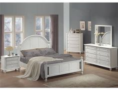 3F7201181QPG - The Aphrodite Bedroom Collection; Queen Bed - Furniture2Go