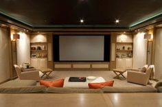 Home theaters are getting to be extremely popular among American homes. This modern technology is slowly giving movie theaters a run for their money. Basic knowledge of home theater system and its basic components may be best for peop Home Theater Setup, Best Home Theater, At Home Movie Theater, Home Theater Speakers, Home Theater Rooms, Home Theater Design, Home Theater Seating, Cinema Room, Home Entertainment