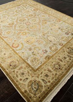 Ivory Traditional Oriental Rug by Jaipur Aurora in 2'x3' $340