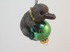 Platypus Ornament by WhimzyGrimzy on Etsy