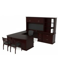 veneer u shape desk hutch combo get a quote for your next office furniture amazoncom bush furniture bow