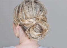 Le tuto de la semaine : le bun pour cheveux mi-long