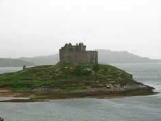 Castle Tioram. The traditional seat of the Clan MacDonald of Clan Ranald.