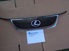 2006-2007 Lexus GS300 Front Chrome Grille Trim w/ Emblem OEM