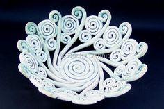 Ceramics-Decorative-Becky Dennis: Eternal Spiral  Bowl