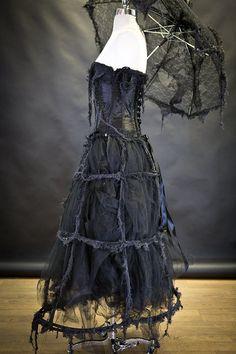Evening dress short zombie