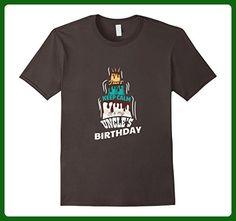 Mens Keep Calm Its My Uncle's Birthday Funny B Day T-Shirt XL Asphalt - Birthday shirts (*Amazon Partner-Link)