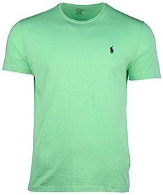 5ce352d2947 Amazon.com  Ralph Lauren Men s Pony Logo T-Shirt  Clothing Heather Grey
