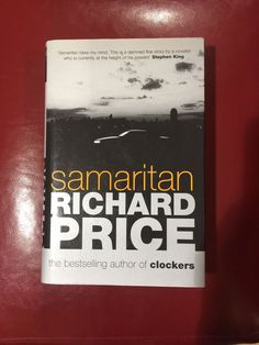 Samaritan by Richard Price Signed UK First Edition