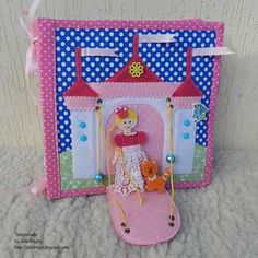 Quiet Book, Busy Book, Activity Book, Toy Dollhouses (3-6 age)