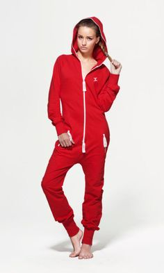 OnePiece Original Fitted Red Onesie...yes I have issues...