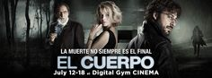 "We're getting excited about this Friday's release of El Cuerpo - La película! Audience favorite at recent San Diego Latino Film Festival (EL CUERPO/THE BODY) Spanish thriller returns to San Diego! July 12-18 only at Digital Gym CINEMA in North Park. ""La Muerte No Siempre es el Final"". http://www.digitalgym.org/the-body/"