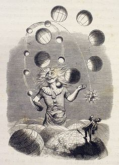 """Juggler of Universes"" by J J Grandville (cover for Queens' ~ ""Innuendo"" album)"