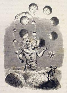 """Juggler of Universes"" by J J Grandville (cover for Queens' ~ ""Innuendo"" album)"