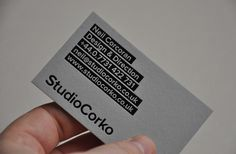 business cards from Surrey based Freelance Designer Neil Corcoran