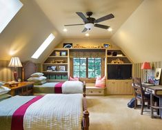 redo attic bedrooms | Spaces Attic Bedrooms Ideas Design, Pictures, Remodel, Decor and Ideas ...