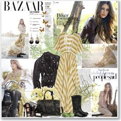 How To Wear Biker romantica Outfit Idea 2017 - Fashion Trends Ready To Wear For Plus Size, Curvy Women Over 50 Fall Scarves, Summer Scarves, Laura Ashley Clothing, Shweshwe Dresses, Maxi Dresses, Motorbike Jackets, Fall Jeans, Boating Outfit, Biker Boots