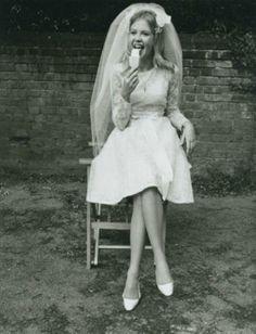 Pre-wedding popsicle, 1960s.