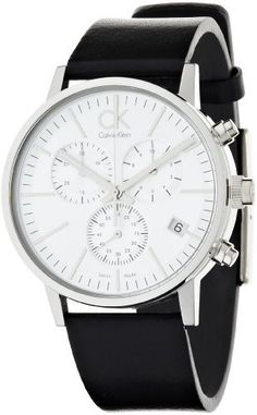 Calvin Klein Men's CK7627120 Post Minimal Chronograph Watch CK Calvin Klein. $288.83. Quartz movement. Stainless-steel case. Durable mineral crystal protects watch from scratches. Case diameter: 42 mm. Water-resistant to 99 feet (30 M). Save 27%!
