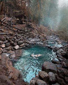 Cougar Hot Springs in Oregon .- Cougar Hot Springs in Oregon Source by Oregon Vacation, Oregon Road Trip, Oregon Travel, Vacation Spots, Travel Usa, Places To Travel, Places To See, Travel Destinations, Future Travel